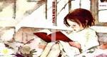 * Little Girl Reading *